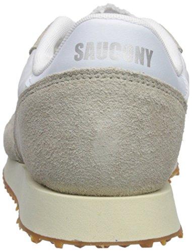 Saucony Damen DXN Trainer Vintage Gymnastikschuhe Braun Weiß