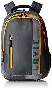 Lavie Prime 4 Grey Casual Backpack (B00120004036)