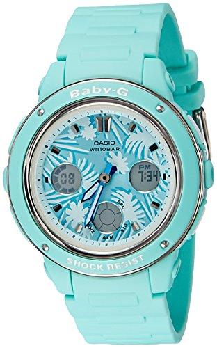 Casio Damas Baby-G Cuarzo: Batería JAPAN Reloj (Modelo de Asia) BGA-150F-3A