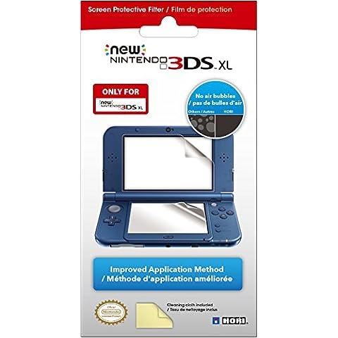 Hori - Pellicola proteggi schermo compatibile con Nintendo 3DS XL