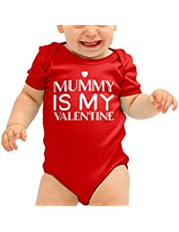 88e281e2a21f Amazon.co.uk  Red - Bodysuits   One-Pieces   Baby Boys 0-24m  Clothing