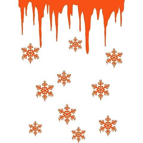 Size 60 cm x 80 cm Colour Orange Christmas Decoration,