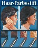 WENKO 3512012500 Haarfärbestift Schwarz - einfache Anwendung