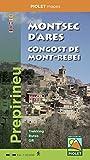 Montsec d'Ares. Congost de Mont-rebei. 1:20.000. mapa excursionista. Piolet.