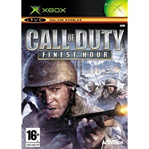 Call Of Duty Finest Hour XBOX UK IMPORT