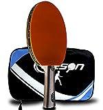 senston Caleson Raqueta de Ping Pong, Incluye Bolsa de Transporte, AA72