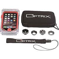 Optrix by Body Glove Pro Action Kamera Gehäuse (Wasserdichtes, geeignet für iPhone SE/5/5s)