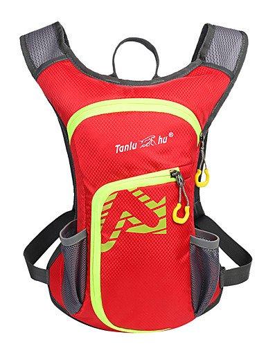 HWB/ n/a L Rucksack Legere Sport / Reisen / Laufen Draußen / Leistung Wasserdicht / Multifunktions andere Nylon N/A Red