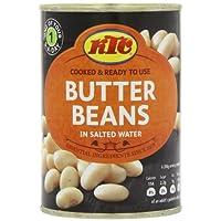 KTC Butter Beans 400 g (Pack of 12)