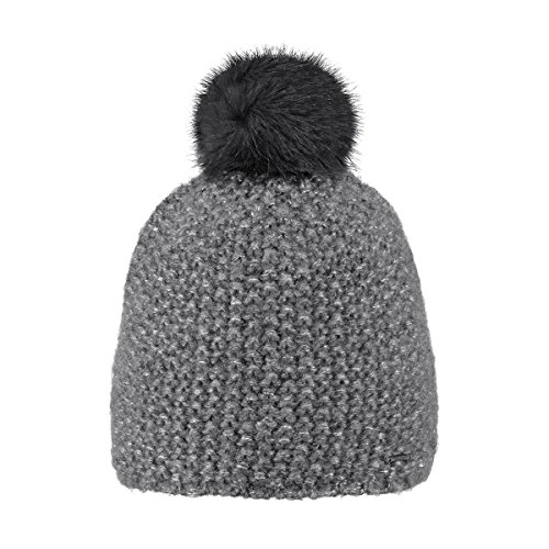 Barts Unisex Strickmütze Ymaja Beanie, Grau (Dark Heather 19), XXX-Large | 08717457547669