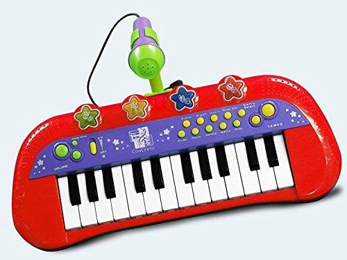 Concerto 717401 Elektronisches Kinder Keyboard