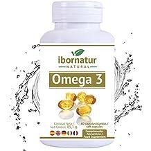 Omega 3 capsulas fish oil | Aceite de Pescado 1000 mg | Mayor pureza y frescura