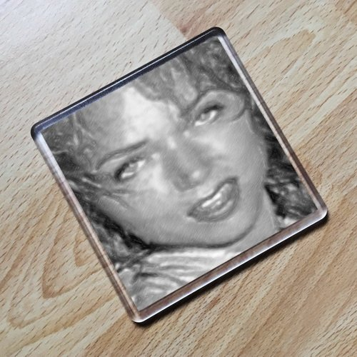 Seasons YVETTE VICKERS - Original Art Coaster #js002