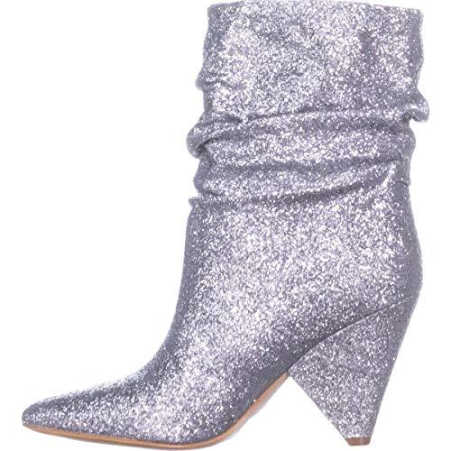 Guess Frauen Nakitta Spitzenschuhe Fashion Stiefel Silber Groesse 8.5 US /39.5 EU