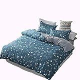 MMTC Stilvolle, Einfache, Warme Bettwäsche Aus Aloe Vera-Baumwolle Mit 4 Bettdecken,4,S