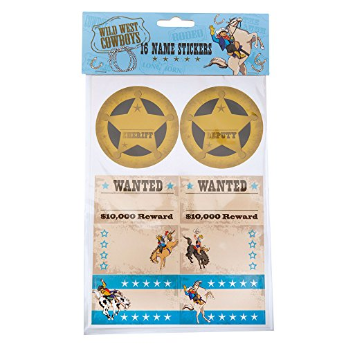 Neviti Wild West Cowboys Sticker