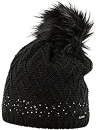 Eisbär Cap Isabellla Lux Crystal Cap with Artificial Fur Bommel
