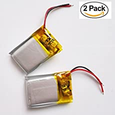 Zyme Replacment Bluetooth Battery For All Bluetooth Headset & Toy Helicopter ( Pack Of 2 )