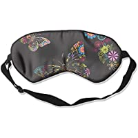 Comfortable Sleep Eyes Masks Flowers And Butterflies Pattern Sleeping Mask For Travelling, Night Noon Nap, Mediation... preisvergleich bei billige-tabletten.eu