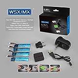 Bluelover 4 En 1 Chargeur 3.7V 520Mah 30C Lipo Batterie Pour Wltoys V977 V930 Xk K110
