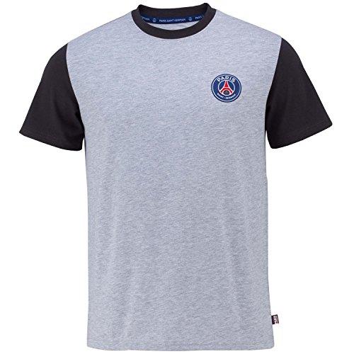 1cd6634532e1fa T-Shirt PSG – offizielle Kollektion PARIS SAINT GERMAIN – Größe Erwachsene Herren  S grau