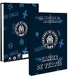 LPD - Cahier de Textes FOOT Olympique de Marseille - 15 x 21 cm