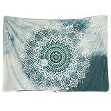 Westeng Wandbehang Tapisserie Mandala-Design Strand Blatt Raum Wand Blatt für Room Decor Bettwäsche Bettdecke Picknick Strand Blatt