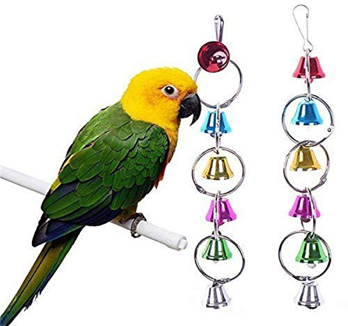 Rational Wooden Parrot Stand Birds Perch Parrots Hanging Swing Cage Toys Stand Holder Pendant Bird Toys Bird Supplies