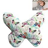 Kirschkern-Wärmekissen 'SCHEMETTERLING' ideal für Babys und Kleinkinder, zur Kälte- und Wärmebehandlung, 19X15cm, 100% Baumwolle, enthält 170g Kirschkerne