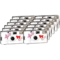 TopShot Love Hearts  376067 -  Cámara desechable  (27 fotos, flash, 12-unidades)