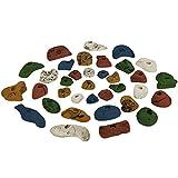35 Klettergriffe im Starterset für Kinder, Farbe:bunt