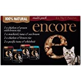 Encore Cat Food Pouch Multipack, 70g, Pack of 6