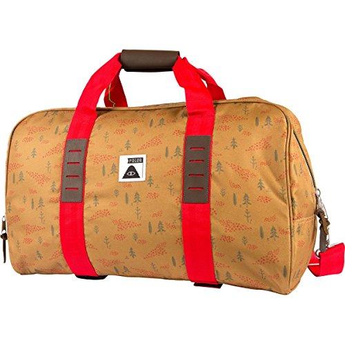 POLER Reisetasche Bag Carry On Duffle Almond Forestry Print