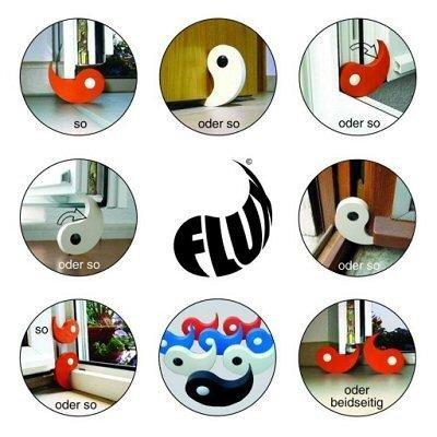 Preisvergleich Produktbild Flux Tür- und Fensterstopper, verfügbare Farben:Orange