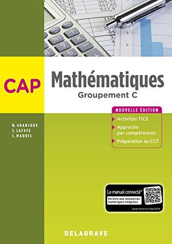 Mathématiques CAP - Groupement C