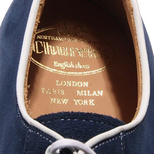 B2146 Scarpa Uomo Whitout Box Églises Otterproof Blu Chaussure Hommes Fitting G Blu