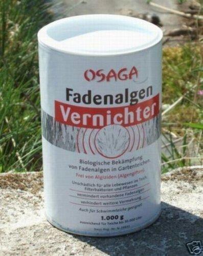 Osaga Fadenalgen-Vernichter für 30.000 Liter, Fadenalgen, Algenkiller