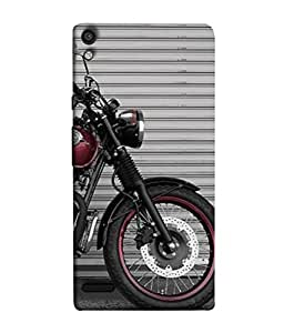 Digiarts Designer Back Case Cover for Huawei Ascend P6 (Vehicle Dream Vacation Trip Ride)