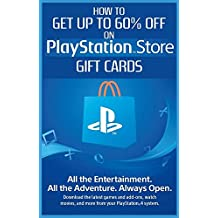 Guide - How to get up to 60% off Playstation store Gift Cards and save money on shopping (English Edition)