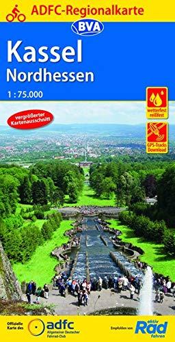 ADFC-Regionalkarte Kassel Nordhessen, 1:75.000, reiß- und wetterfest, GPS-Tracks Download (ADFC-Regionalkarte 1:75000)
