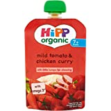 Hipp organique doux Tomate & Chicken Curry 7mois + (130g) -