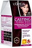 #7: L'Oreal Paris Casting Creme Gloss, Black Cherry 360, 87.5g+72ml