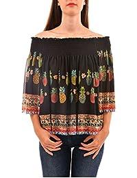 Ropa Camisetas es Amazon Desigual Y Blusas Tops Camisetas 00v4xF