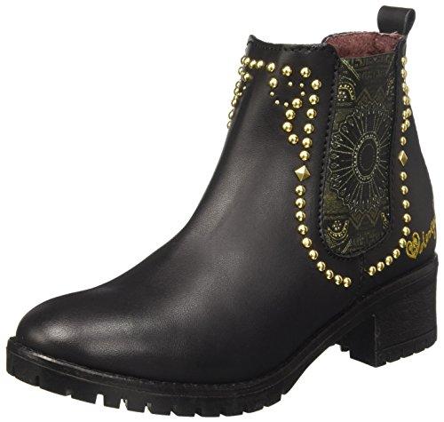 Desigual Damen Shoes_charly Blackstud Chelsea Boots Schwarz (negro)