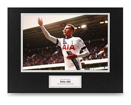Dele-Alli-Signed-16×12-Photo-Display-Tottenham-Hotspur-Autograph-Memorabilia-COA