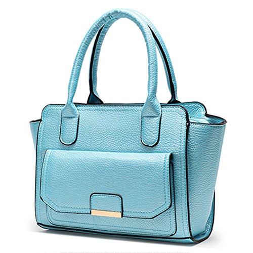 Meoaeo Elegante Borsa Donna Autunno E Inverno Fashion Lady Temperamento Unico Blu Con Spallamento blue