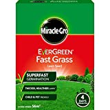 Miracle-Gro EverGreen Fast Grass Lawn Seed 1.6kg - 56m2