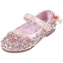 Eozy Kinder Ballerina Mädchen Glitzer Festliche Schuhe Kinderschuh 46f384b9de