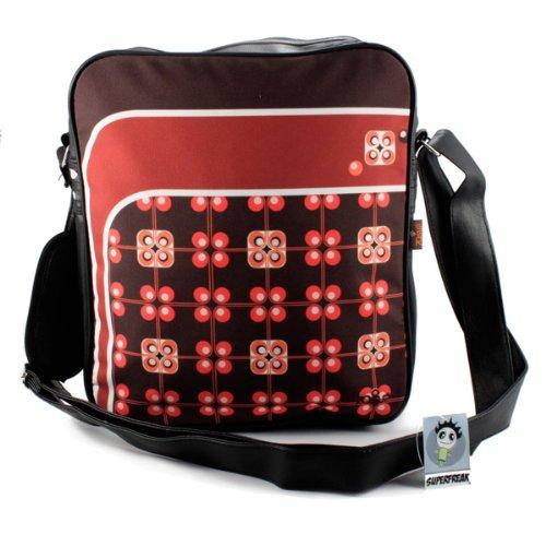 """Superfreak® Tasche 70s Up Umhängetasche """"S-7002"""" , alle Muster!!! Pattern of flowers"""