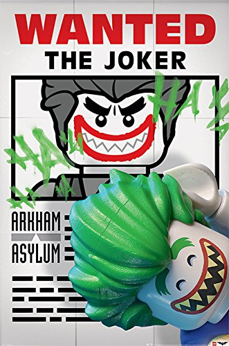 DC Universe Poster Lego Batman - Wanted The Joker - 61 x 91.5 cm | PostersDE